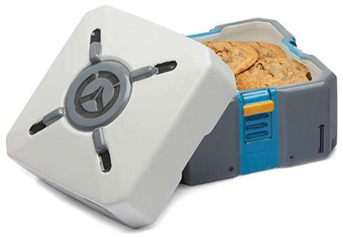 Overwatch Loot Box Ceramic Cookie Jar