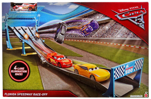 Disney / Pixar Cars Cars 3 Florida Speedway Race-Off Exclusive Playset