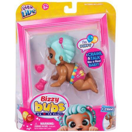 Little Live Pets Bizzy Bubs Poppy Figure [Crawl & Talk!]
