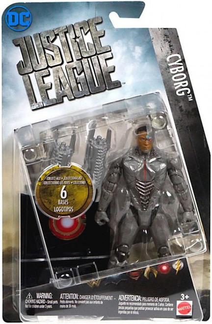 DC Justice League Movie Cyborg Action Figure [Collect & Build Justice League Base]