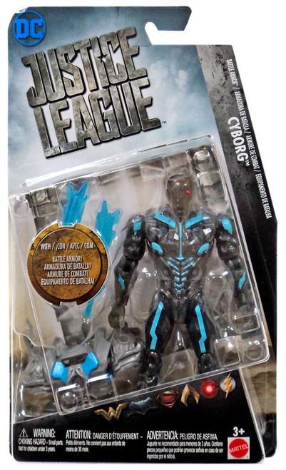 DC Justice League Movie Cyborg Action Figure [Battle Armor]