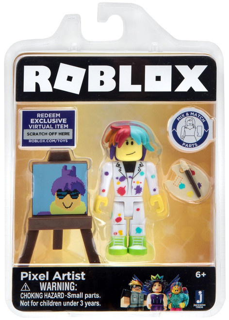Roblox Celebrity Collection Pixel Artist Action Figure