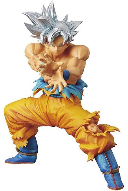 Dragon Ball Super DXF Super Warriors Ultra Instinct Son Goku 7-Inch PVC Figure