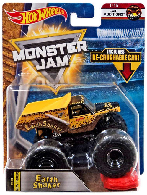 Hot Wheels Monster Jam Earth Shaker Die-Cast Car #1/15 [Epic Additions]