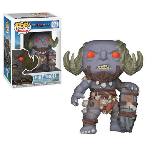 Funko God of War POP! Games Fire Troll Vinyl Figure #271