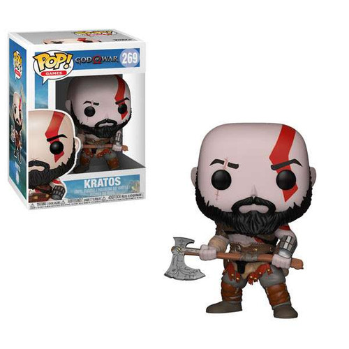 Funko God of War POP! Games Kratos with Axe Vinyl Figure #269