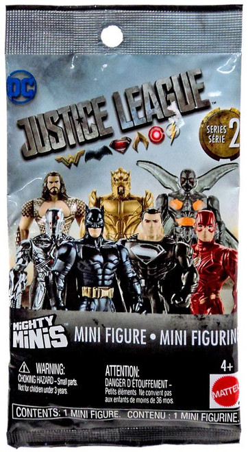DC Justice League Movie Mighty Minis Series 2 Mystery Pack [1 RANDOM Figure]