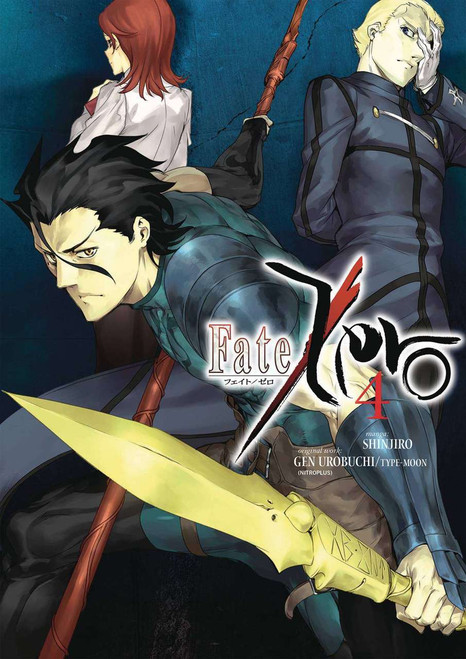 Fate/Zero Volume 4 Manga Trade Paperback