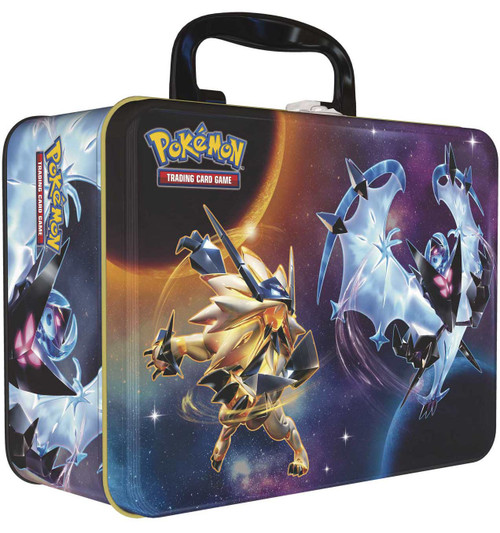 Pokemon Trading Card Game 2018 Collector's Chest Lycanroc, Necrozma & Necrozma Tin Set [5 Booster Packs, 3 Promo Cards, Mini Portfolio, Coin & More!]