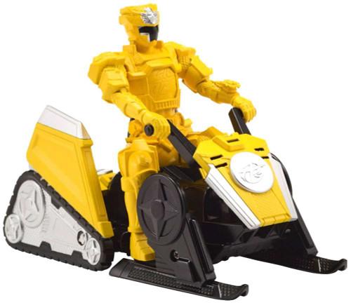 Power Rangers Super Ninja Steel Mega Morph Alpine Attack Vehicle with Yellow Ranger Action Figure