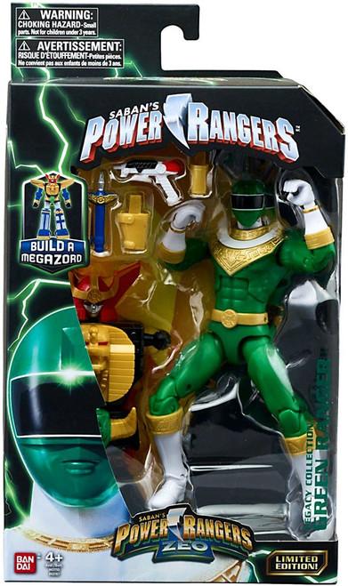 Power Rangers Zeo Legacy Build A Megazord Green Ranger Action Figure [Zeo]