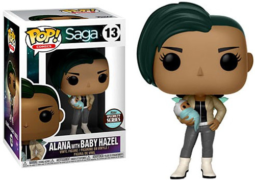 Funko Saga POP! Comics Alana with Baby Hazel Exclusive Vinyl Figure #13 [Specialty Series]
