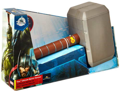 Disney Marvel Thor: Ragnarok Thor Ultimate Mjolnir Hammer Exclusive Roleplay Toy