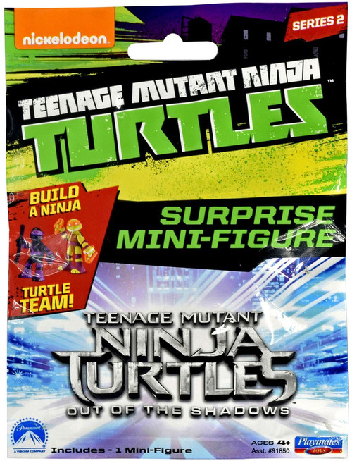 Teenage Mutant Ninja Turtles Out of the Shadows Series 2 Mini Figure 2-Inch Mystery Pack