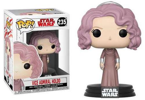 Funko The Last Jedi POP! Star Wars Vice Admiral Holdo Vinyl Bobble Head #235