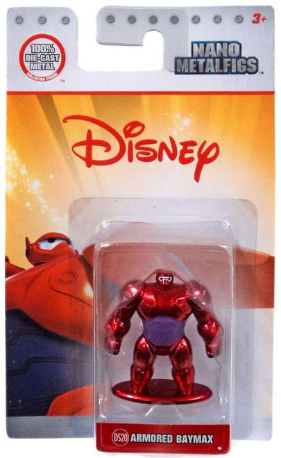 Disney Nano Metalfigs Armored Baymax 1.5-Inch Diecast Figure