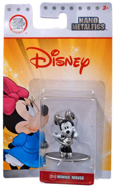 Disney Nano Metalfigs Minnie Mouse 1.5-Inch Diecast Figure DS14 [Black & White]
