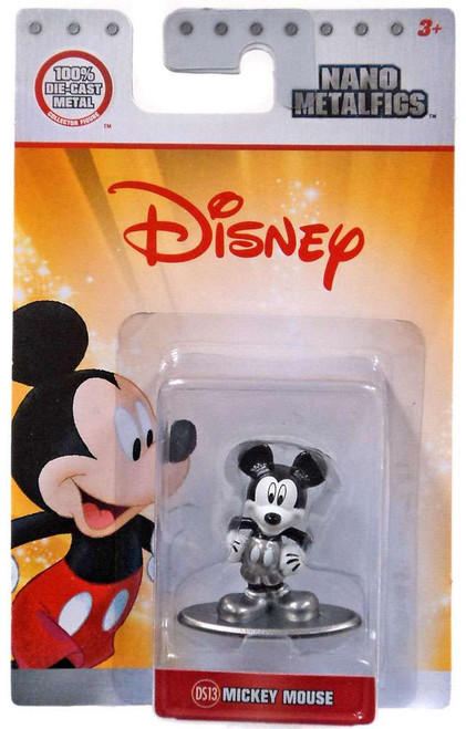 Disney Nano Metalfigs Mickey Mouse 1.5-Inch Diecast Figure DS13 [Black & White]