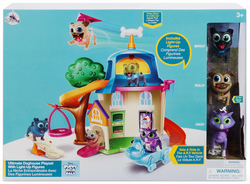 Disney Junior Puppy Dog Pals Ultimate Doghouse Exclusive Playset [Bingo, Rolly & Hissy]
