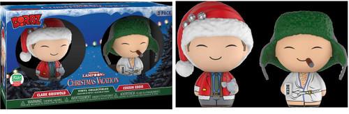 Funko Christmas Vacation Dorbz Clark Griswold & Cousin Eddie Vinyl Figure 2-Pack [12 Days of Christmas]