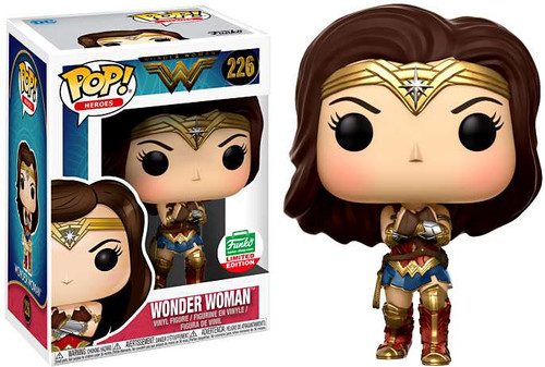 Funko DC POP! Movies Wonder Woman with Gauntlets Exclusive Vinyl Figure #226 [12 Days of Christmas]