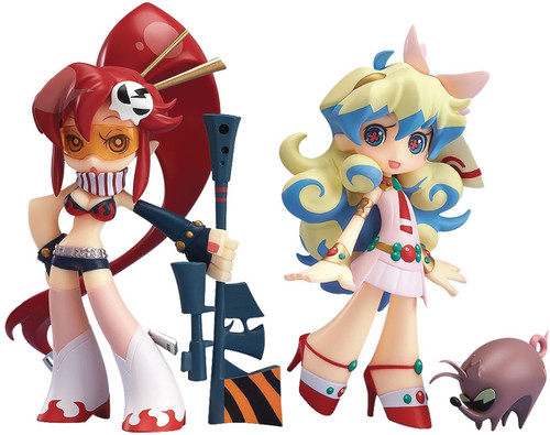 Gurren Lagann Twin Pack+ Yoko & Nia Collectible PVC Minifigures