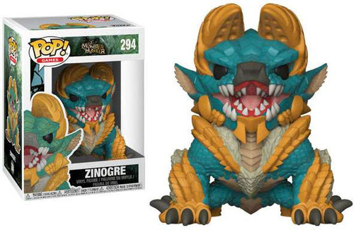 Funko Monster Hunter POP! Video Games Zinogre Vinyl Figure #294