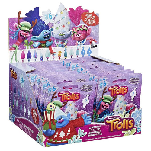 Trolls Series 6 Mystery Box [24 Packs]