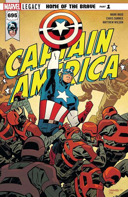 Marvel Comics Captain America #695 Comic Book [Chris Samnee]