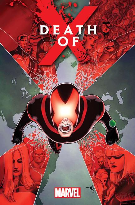 Marvel Comics Death of X #1 Comic Book [Aaron Kuder]