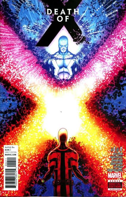 Marvel Comics Death of X #4 Comic Book [Aaron Kuder]