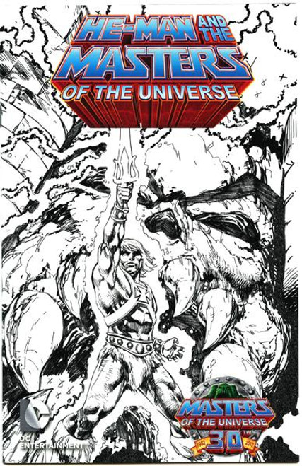 He-Man and the Masters of the Universe #1 Exclusive Comic Book [Sketch Variant]