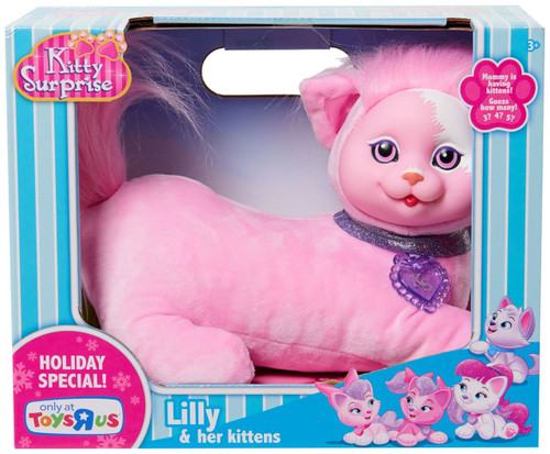 Kitty Surprise Lilly & Her Kittens Exclusive Plush Toy