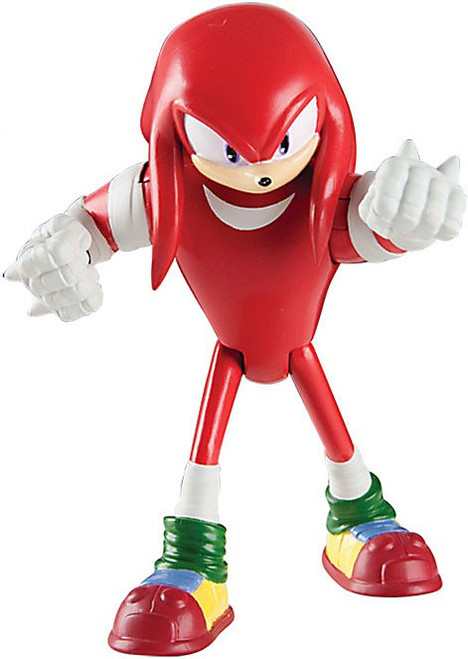 Sonic The Hedgehog Sonic Boom Knuckles Action Figure [Loose]