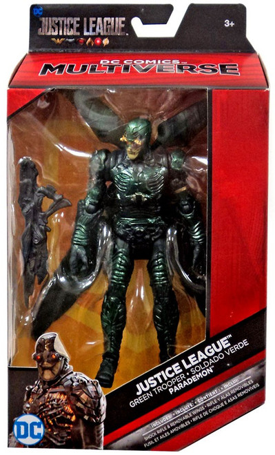 DC Justice League Movie Multiverse Parademon Exclusive Action Figure [Green Trooper]