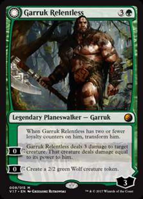 MtG From the Vault: Transform Mythic Rare Garruk Relentless #9