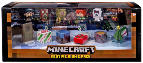 Minecraft Festive Biome Pack Mini Figure 12-Pack