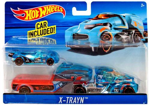Hot Wheels X-Trayn Die-Cast Car [Blue]