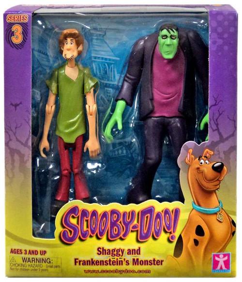 Scooby Doo Series 3 Shaggy & Frankenstein's Monster Action Figure 2-Pack