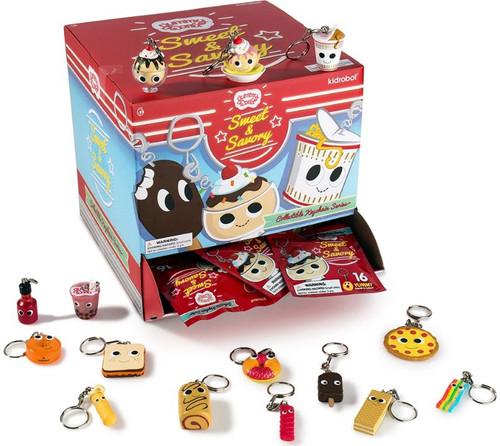 Yummy World Vinyl Keychain Sweet & Savory 3-Inch Mystery Box [24 Packs]