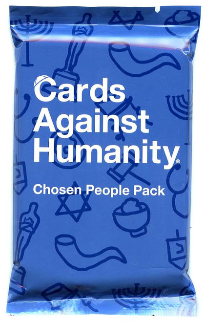 Cards Against Humanity Chosen People Pack Card Game Expansion