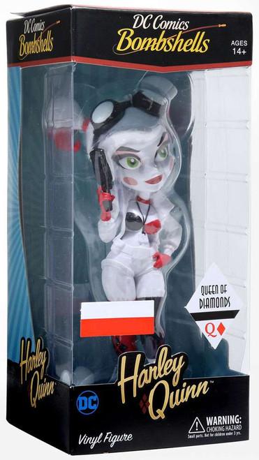 DC Bombshells Harley Quinn Exclusive Vinyl Figure [Queen of Diamonds]