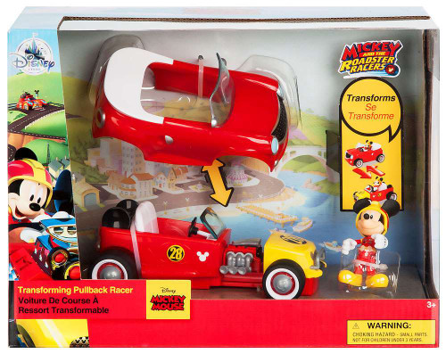 Disney Mickey & Roadster Racers Mickey Mouse Exclusive Transforming Pullback Racer [2017]