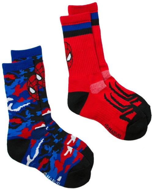 Marvel Ultimate Spider-Man Sport Socks 2-Pack [Size 6 - 8.5]