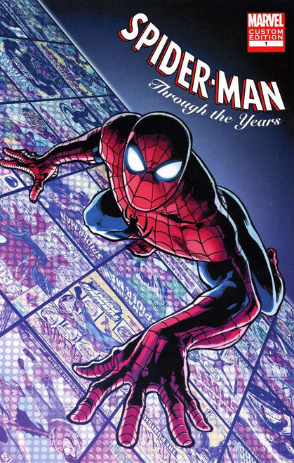 Spider-Man Through the Years #1 Comic Book [Custom Edition]