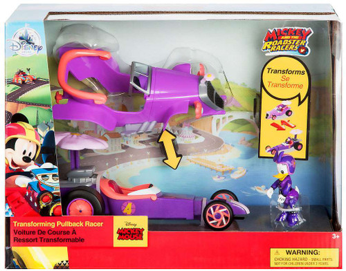Disney Mickey & Roadster Racers Daisy Duck Exclusive Transforming Pullback Racer [2017]