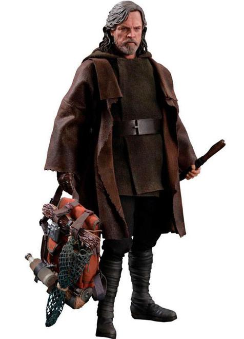Star Wars The Last Jedi Movie Masterpiece Luke Skywalker Collectible Figure MM458 [The Last Jedi Deluxe Version]