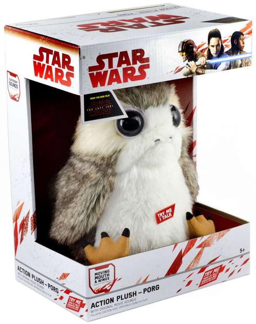 Star Wars The Last Jedi Porg 8.5-Inch Plush with Sound [Talking]