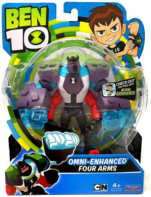 Ben 10 Basic Omni-Enhanced Four Arms Action Figure
