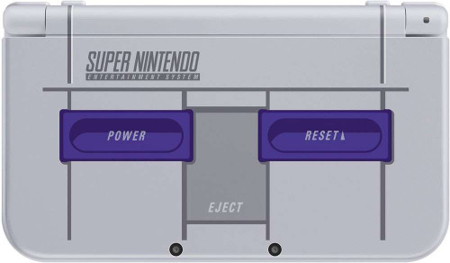 New Nintendo 3DS XL Video Game Console [Super Nintendo Edition]